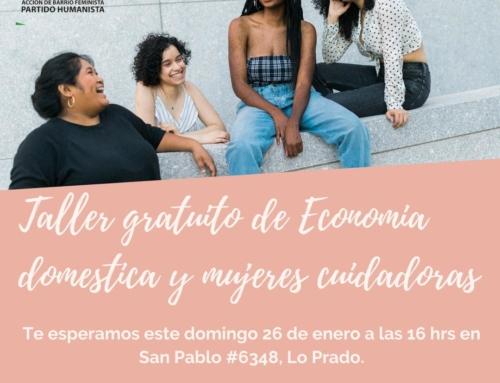 Taller gratuito: Economía doméstica y mujeres cuidadoras