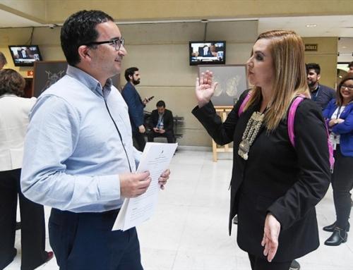Diputados Pamela Jiles y Félix González presentaron moción para adelantar elecciones presidenciales