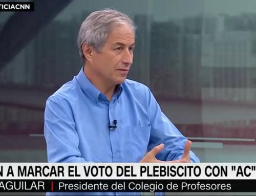 """Mario Aguilar llama a marcar """"AC"""" en plebiscito: """"Ninguna de las opciones es una asamblea constituyente soberana"""""""