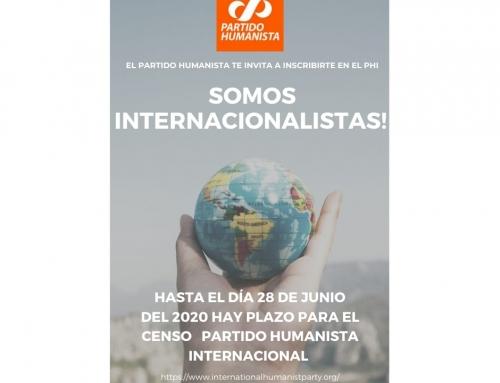 Súmate a la internacional humanista