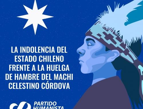 La indolencia del estado chileno frente a la huelga de hambre del Machi Celestino Córdova