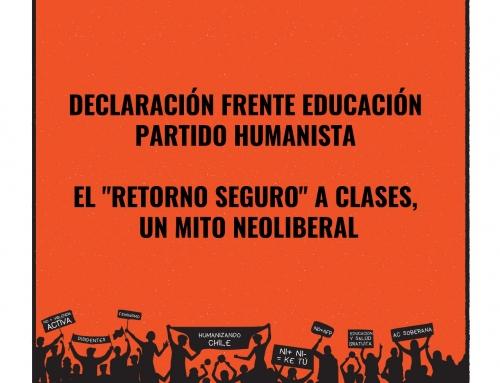 DECLARACIÓN FRENTE EDUCACIÓN PH: EL «RETORNO SEGURO» A CLASES, UN MITO NEOLIBERAL
