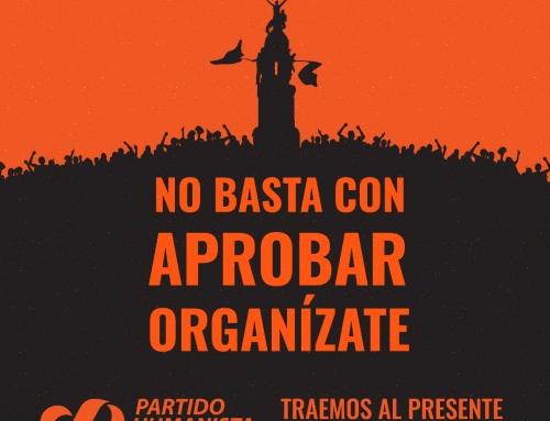 Declaración Partido Humanista: «Con la gente y para la gente»