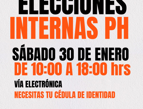 PARTIDO HUMANISTA REALIZARÁ ELECCIONES INTERNAS VÍA ONLINE