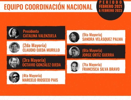 CATALINA VALENZUELA ES REELECTA COMO PRESIDENTA DEL PARTIDO HUMANISTA TRAS ELECCIONES INTERNAS